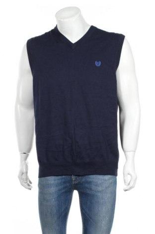 Мъжки пуловер Chaps, Размер L, Цвят Син, Памук, Цена 5,78лв.