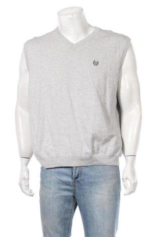 Мъжки пуловер Chaps, Размер XL, Цвят Сив, Памук, Цена 5,51лв.