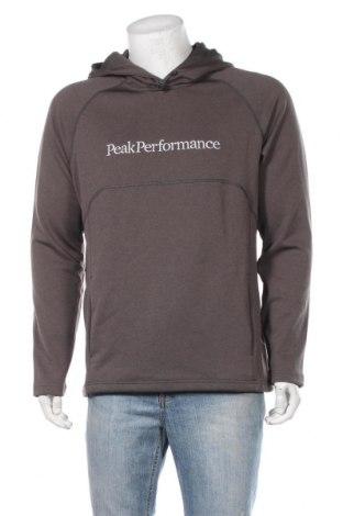 Мъжки суичър Peak Performance, Размер L, Цвят Зелен, Полиестер, Цена 55,55лв.
