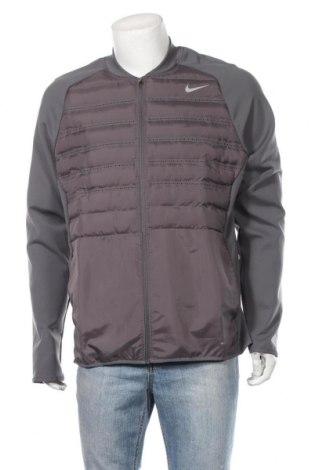 Мъжко спортно яке Nike Golf, Размер XL, Цвят Сив, Полиестер, Цена 139,78лв.