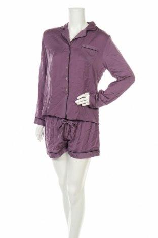 Пижама Anna Field, Размер M, Цвят Лилав, Полиестер, Цена 30,00лв.