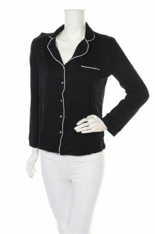 Пижама Etam, Размер M, Цвят Черен, 95% вискоза, 5% еластан, Цена 32,25лв.