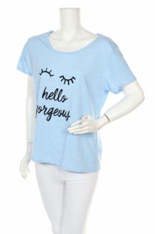 Пижама Hunkemoller, Размер XL, Цвят Син, 60% памук, 40% полиестер, Цена 23,25лв.