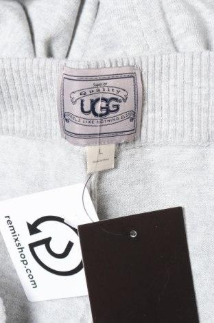 Пижама Ugg Australia, Размер L, Цвят Сив, Памук, Цена 73,50лв.