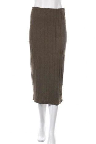 Φούστα Kiomi, Μέγεθος M, Χρώμα Πράσινο, 80% βισκόζη, 16% πολυακρυλικό, 4% ελαστάνη, Τιμή 13,32€