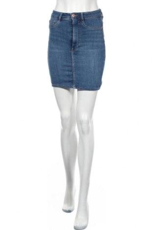Пола Perfect Jeans By Gina Tricot, Размер S, Цвят Син, 98% памук, 2% еластан, Цена 26,50лв.