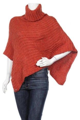 Пончо Tif Tiffy, Размер M, Цвят Оранжев, 50% акрил, 30% вълна, 20% мохер, Цена 9,19лв.