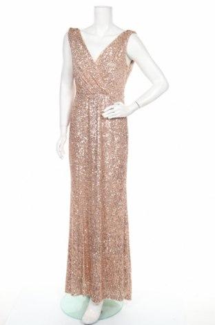 Φόρεμα Adrianna Papell, Μέγεθος M, Χρώμα Χρυσαφί, 95% πολυαμίδη, 5% ελαστάνη, Τιμή 23,81€