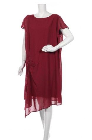 Рокля Bpc Bonprix Collection, Размер XL, Цвят Червен, Полиестер, Цена 18,15лв.