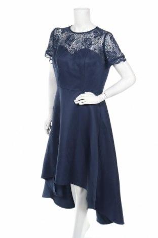 Φόρεμα Chi Chi, Μέγεθος L, Χρώμα Μπλέ, Πολυεστέρας, Τιμή 43,15€