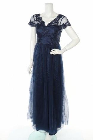 Φόρεμα Chi Chi, Μέγεθος M, Χρώμα Μπλέ, Πολυεστέρας, Τιμή 28,76€