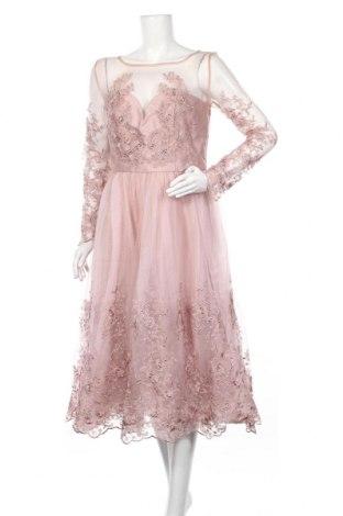 Φόρεμα Chi Chi, Μέγεθος L, Χρώμα Σάπιο μήλο, Πολυεστέρας, Τιμή 32,11€