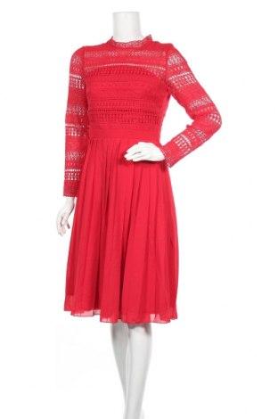 Φόρεμα Chi Chi, Μέγεθος S, Χρώμα Κόκκινο, Πολυεστέρας, Τιμή 40,26€