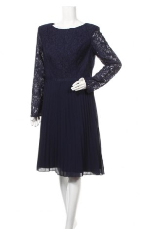 Φόρεμα Chi Chi, Μέγεθος XL, Χρώμα Μπλέ, Βαμβάκι, πολυαμίδη, Τιμή 43,04€