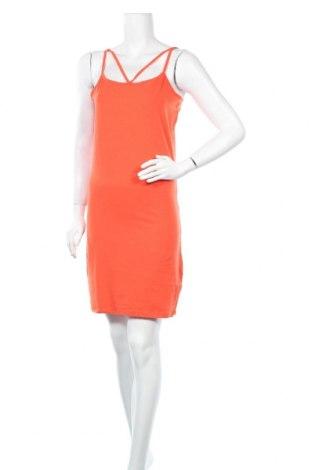 Рокля Even&Odd, Размер XL, Цвят Оранжев, 93% памук, 7% еластан, Цена 24,36лв.