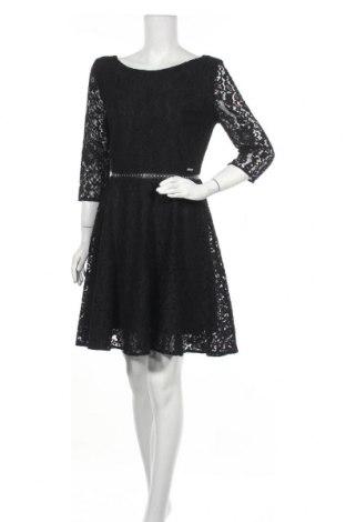 Φόρεμα Guess, Μέγεθος L, Χρώμα Μαύρο, 73% βαμβάκι, 27% πολυαμίδη, Τιμή 21,65€