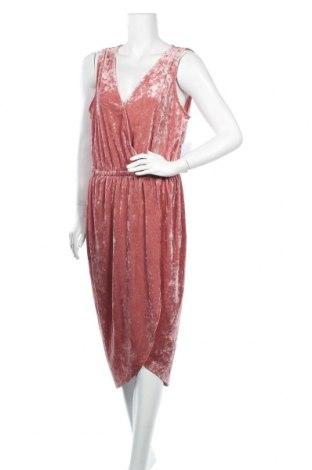 Φόρεμα Justfab, Μέγεθος XL, Χρώμα Ρόζ , 93% πολυεστέρας, 7% ελαστάνη, Τιμή 21,95€