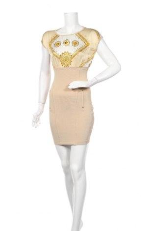 Рокля Versace Jeans, Размер XXS, Цвят Многоцветен, Коприна, вискоза, полиестер, еластан, Цена 118,30лв.