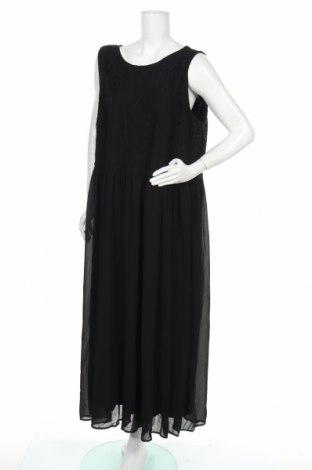 Φόρεμα Zizzi, Μέγεθος 3XL, Χρώμα Μαύρο, 65% βαμβάκι, 35% πολυαμίδη, Τιμή 27,32€