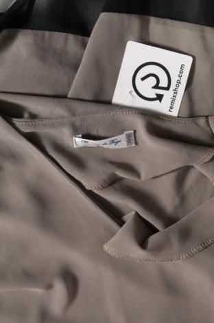Туника, Размер L, Цвят Сив, 50% коприна, 50% полиестер, Цена 35,96лв.