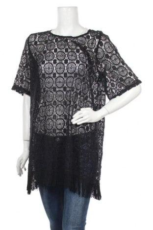 Туника Dorothy Perkins, Размер L, Цвят Черен, 75% памук, 25% полиамид, Цена 24,50лв.
