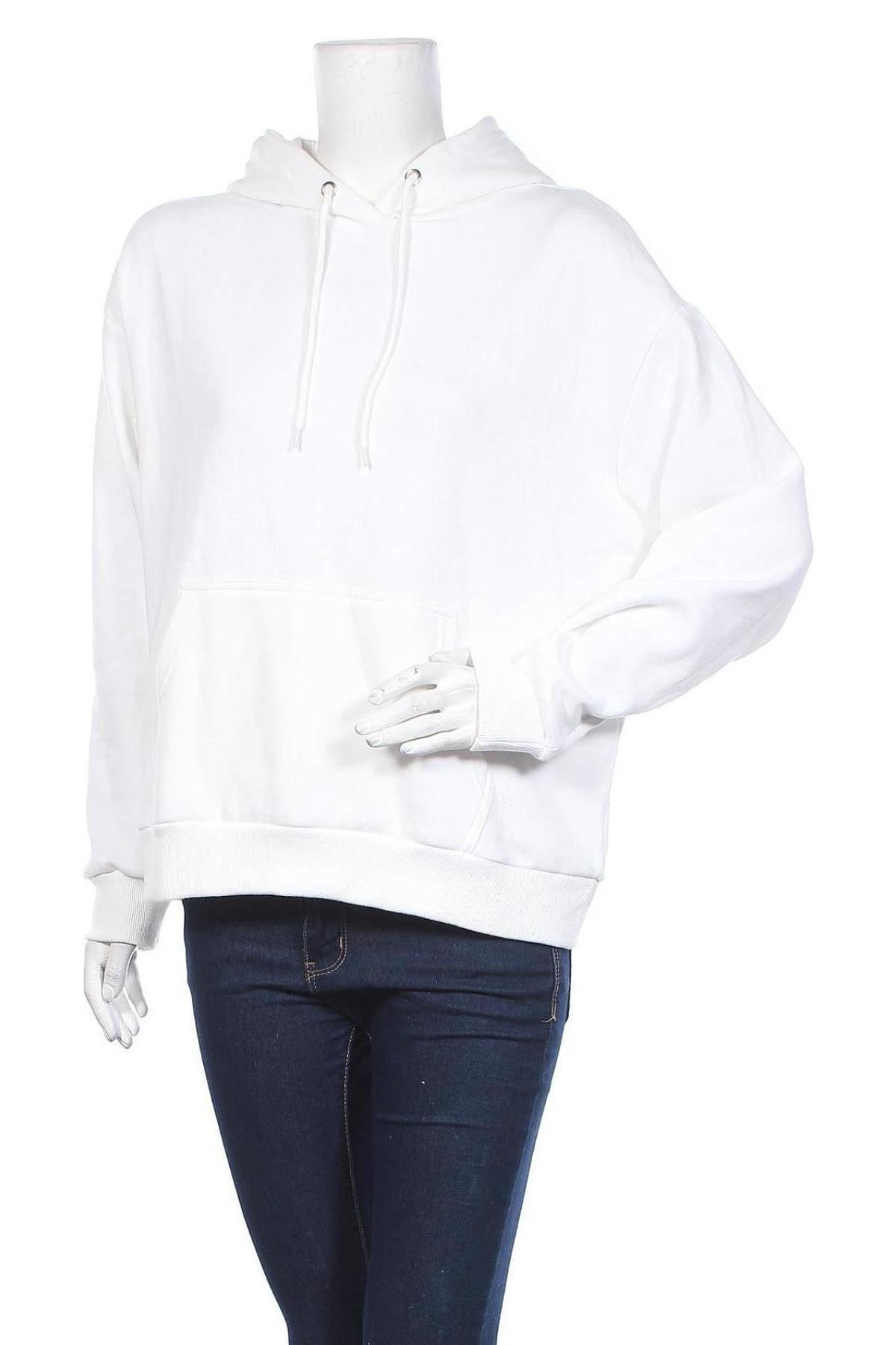 Дамски суичър Even&Odd, Размер M, Цвят Бял, 60% памук, 40% полиестер, Цена 42,75лв.