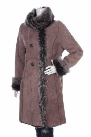 Δερμάτινο γυναικείο παλτό Jean Guise by Tanatar