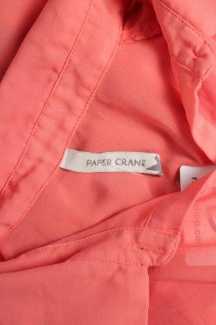 Γυναικείο πουκάμισο Paper Crane, Μέγεθος S, Χρώμα Πορτοκαλί, 100% πολυεστέρας, Τιμή 9,90€