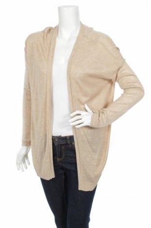 Cardigan de damă H&M, Mărime M, Culoare Bej, 50% viscoză, 50%acril, Preț 21,14 Lei