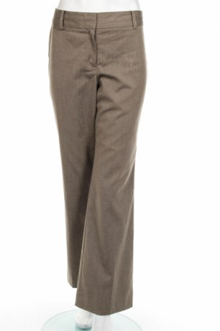Дамски панталон Ann Taylor, Размер M, Цвят Кафяв, 64% полиестер, 34% вискоза, 2% еластан, Цена 51,30лв.