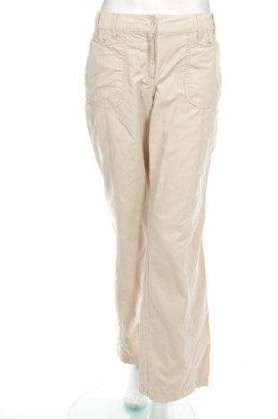 Дамски панталон S.Oliver, Размер M, Цвят Бежов, Цена 9,57лв.