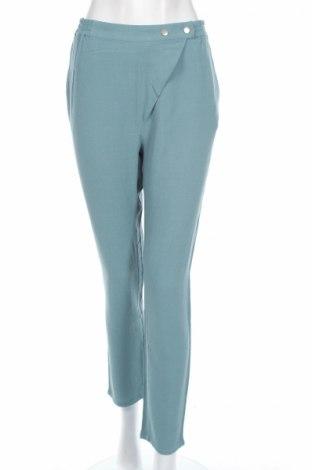 Дамски панталон Yerse, Размер M, Цвят Син, Вискоза, Цена 84,50лв.