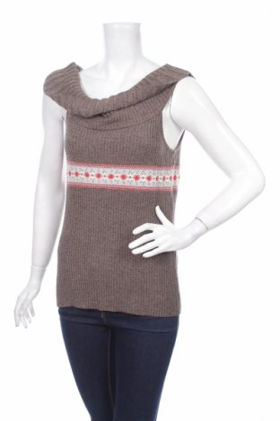 Дамски пуловер Kookai, Размер L, Цвят Кафяв, 85% вискоза, 10% полиамид, 5% полиестер, Цена 7,46лв.
