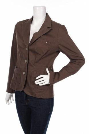 Дамско сако Street One, Размер M, Цвят Кафяв, 96% памук, 4% еластан, Цена 5,00лв.