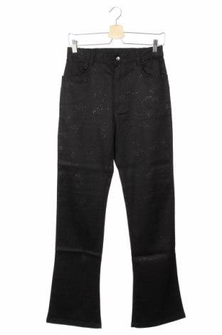 Παιδικό παντελόνι, Μέγεθος 15-18y/ 170-176 εκ., Χρώμα Μαύρο, 58% βισκόζη, 40% βαμβάκι, 2% ελαστάνη, Τιμή 6,12€