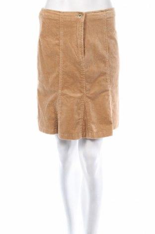 Φούστα B.Curved, Μέγεθος M, Χρώμα  Μπέζ, 97% βαμβάκι, 3% ελαστάνη, Τιμή 4,86€