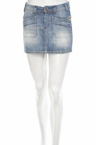 Пола Jeans, Размер XS, Цвят Син, 95% памук, 5% еластан, Цена 5,29лв.