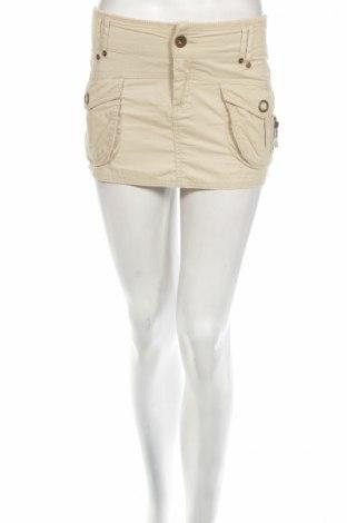 Φούστα Terranova, Μέγεθος S, Χρώμα  Μπέζ, 100% βαμβάκι, Τιμή 4,42€