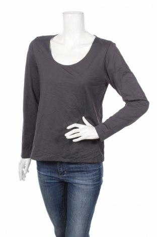 Дамска блуза Madeleine, Размер L, Цвят Сив, 95% полиамид, 5% еластан, Цена 6,50лв.