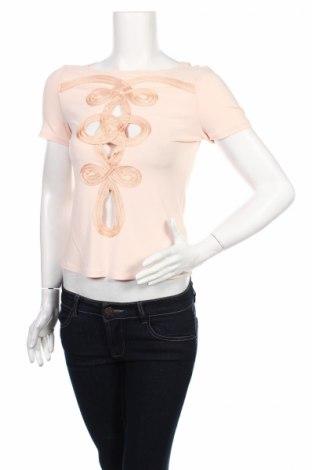 Γυναικεία μπλούζα Mariella Rosati, Μέγεθος M, Χρώμα Ρόζ , 75% ασετάτ, 20% πολυαμίδη, 5% ελαστάνη, Τιμή 7,37€