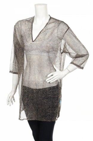 Дамска блуза St. Michael Marks & Spencer, Размер L, Цвят Бежов, Полиамид, Цена 12,80лв.