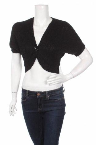 Γυναικεία ζακέτα H&M, Μέγεθος S, Χρώμα Μαύρο, 50%ακρυλικό, 26% πολυαμίδη, 14% μοχαίρ, 10% μεταλλικά νήματα, Τιμή 5,31€