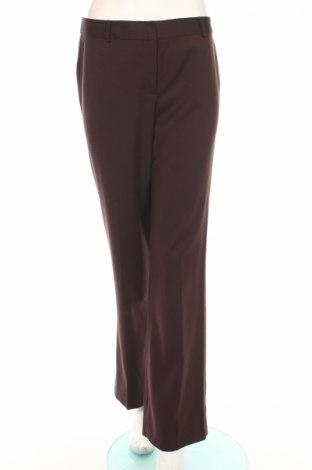 Дамски панталон Anne Klein, Размер M, Цвят Кафяв, 73% полиестер, 25% вискоза, 2% еластан, Цена 14,35лв.