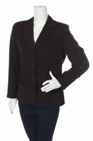 Дамско сако Laura Lebek, Размер M, Цвят Кафяв, Полиестер, Цена 8,74лв.