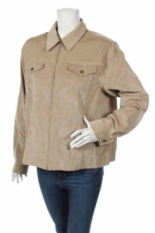 Dámska bunda  Alfred Dunner, Veľkosť L, Farba Béžová, 80% polyester, 17% polyamide, 3% elastan, Cena  6,52€