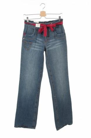Gyerek farmernadrág Tom Tailor, Méret 14-15y / 168-170 cm, Szín Kék, 98% pamut, 2% elasztán, Ár 2737 Ft