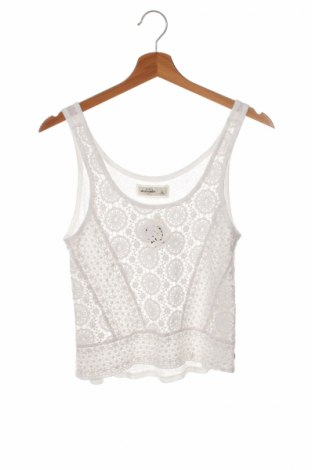 Μπλουζάκι αμάνικο παιδικό Abercrombie Kids, Μέγεθος 11-12y/ 152-158 εκ., Χρώμα Λευκό, Τιμή 6,03€