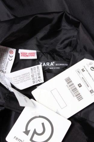 Детско пончо Zara Kids, Размер 8-9y/ 134-140 см, Цвят Черен, Полиестер, Цена 29,25лв.