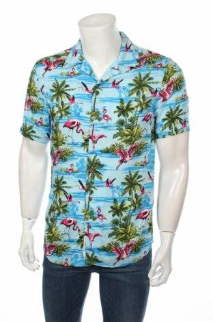 Мъжка риза Only & Sons, Размер S, Цвят Многоцветен, Вискоза, Цена 21,12лв.