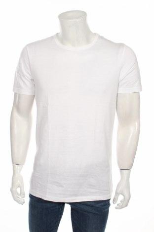 Męski T-shirt Jack & Jones, Rozmiar M, Kolor Biały, Bawełna, Cena 29,09zł